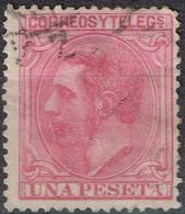 Espagne - 1879 - Y&T N° 190 - Oblitéré - Oblitérés