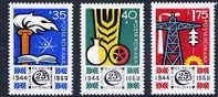 ROMANIA 1969 Economic Development Set MNH / **  Michel 2783-85 - 1948-.... Republics
