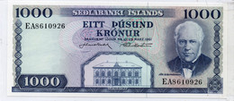 * ICELAND-5000 KRONUR L.1961- UNC- P 47 Signature ?? - Islande