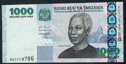 TANZANIA  P36a & P36b  1000 SHILLINGS 2003 & 2006 * PAIR *   UNC. - Tanzanie