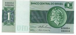 BRAZIL 1000 Cruzeiros Banknote Unc - Brésil