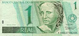 1 REAL BRASIL CONDITION CIRCULATED BRAZIL - Brésil