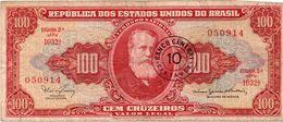 Brasile BRASIL BRAZIL  100 CRUZEIROS UNC - Brésil