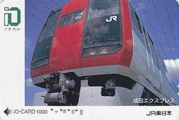 Carte Japon - TRAIN / Narita Airport Express - Japan JR Card  - Eisenbahn ZUG Karte Trein Avion - IO 537 - Avions