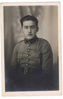 Militaire   No 54  Col De Veste     Carte Photo - Uniformi
