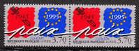 Europa. Paix Et Liberté - 1 Paire - N** - Neufs