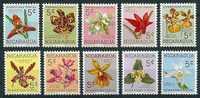 Nicaragua  1962  Zwangszuschlag  Orchideen  (kpl. Set) Mi-Nr.Z 61/70  Postfrisch / MNH - Orchideen