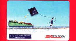 Nuova - MNH - ITALIA - Scheda Telefonica - Telecom - PRIVATE - PRP 330 - FESR - Fondo Europeo Sviluppo Regionale - Italië