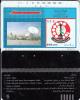 SYRIA(Tamura) - Earth Station, Art No 131, S.T.E. Telecard 500 Units(HII-100496, Black Reverse-5), Used - Syria