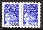 Type Marianne Du 14 Juillet - 1 Paire - N** - 1997-04 Marianne Du 14 Juillet