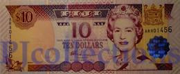 FIJI 10 DOLLARS 2002 PICK 106a UNC - Fidji