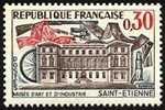 France N° 1243 ** Architecture - Musée D'Art Et D'Industrie De Saint-Etienne - Armes - France