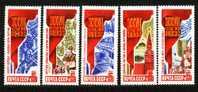 Russia 1986 Mi 5665-5669 MNH VF - 1923-1991 USSR