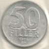 Hungary Ungheria 50  Filler KM#574  1975 - Hongrie