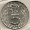 Hungary Ungheria 5  Forint  KM#594  1981 - Hongrie