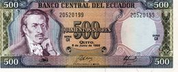 ECUADOR  5 SUCRES 1988 PICK 113 UNC - Ecuador