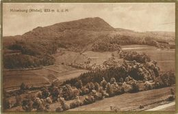 AK Milseburg Rhön Fulda Hilders Burg Mit Golddruck 1924 Bahnpost #01 - Hilders