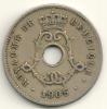 Belgium Belgique Belgie Belgio 5 Cents FR KM#54 1905 - 1865-1909: Leopold II