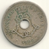 Belgium Belgique Belgie Belgio 5 Cents FL KM#55 1905 - 03. 5 Centimes