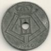 Belgium Belgique Belgie Belgio 25 Cents FL/FR   KM#132  1946 - 1934-1945: Leopoldo III