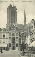 CP Malines Mecheln Machelen Grand'Place & Cathédrale ~1915 #03 - Machelen