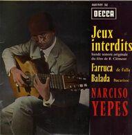 "B-O-F  Narciso Yepes  ""  Jeux Interdits  "" - Soundtracks, Film Music"