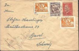 Yugoslavia 1952. Carta De Begeic A Basilea. - 1945-1992 Repubblica Socialista Federale Di Jugoslavia