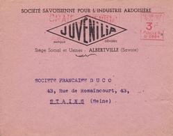 Ardoise Savoie Albertville Juvenilia Société Savoisienne Pour L'Industrie Ardoisière Duco Stains - France