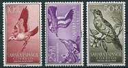 Span. Sahara  1958  Vögel  (kpl. Set)  Mi-Nr.184/86  Postfrisch / MNH - Vögel
