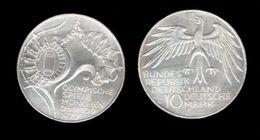 ALLEMAGNE . 10 MARK . 1972 J . - [ 6] 1949-1990 : RDA - Rep. Dem. Alemana