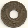East Africa  1 Cent  KM#22  1922 H - Colonia Britannica