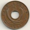 East Africa  5 Cents  KM#25.1  1941 I - Colonia Britannica