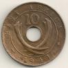 East Africa  10 Cents  KM#26.1  1941 I - Colonia Britannica