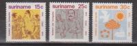 Suriname 600-602 MNH ; Immigratie, Immigration 1973 NOW SPECIAL SURINAME SALE - Surinam ... - 1975