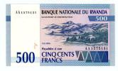 RWANDA P-23 500 FRANCS (1.12.1994) *UNC* - Ruanda-Urundi