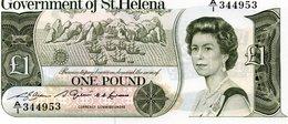 * ST SAINT HELENA 10 POUNDS 1985 Sign.3 UNC P 8 B - Sainte-Hélène