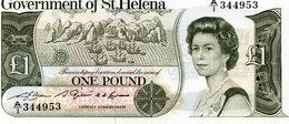 * ST SAINT HELENA 10 POUNDS 1985 Sign.3 UNC P 8 B - Isla Santa Helena