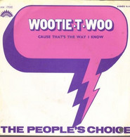 """The People's Choice  """"  Wootie-t-woo  """" - Vinyl Records"""