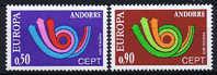 French Andorra Europe / Cept 1973, MNH/postfris