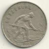 Luxembourg  1 Franc   KM#46.2  1955 - Lussemburgo