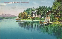 AK Krumpendorf Wörthersee Seerestaurant Color 1929 #01 - Andere