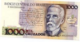 BRAZIL - 1000 CRUZADOS 1987 UNC P 213 - Brésil