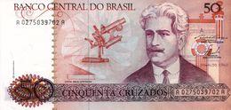 BRAZIL 50 Cruzeiros On 50 Cruzados Novos 1990 UNC P 223 - Brésil