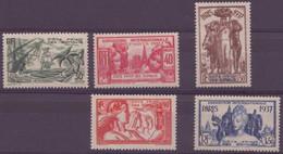 COTE DES SOMALIS N° 142 à 146** Neuf Sans Charniere Sauf Le N°141 - Côte Française Des Somalis (1894-1967)