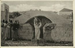 AK / PC Israel Nazareth Brunnen Marias ~1940 #10 - Israel