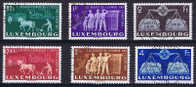 Luxembourg Michel Nr 478 - 483 Used - Gebruikt