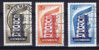 Luxembourg Michel Nr 555-557 Used