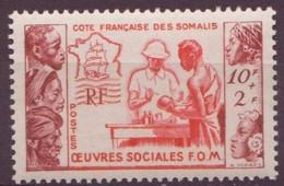 COTE DES SOMALIS N° 283** Neuf Sans Charniere - Côte Française Des Somalis (1894-1967)