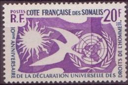 COTE DES SOMALIS N° 291** Neuf Sans Charniere - Côte Française Des Somalis (1894-1967)