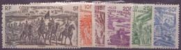 COTE DES SOMALIS N° 14 à 19**  PAR AVION  Neuf Sans Charniere - Côte Française Des Somalis (1894-1967)